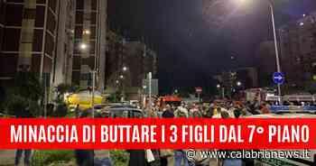 Rozzano: minaccia di buttare i tre figli dal settimo piano - Calabria News