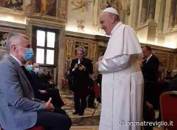 Medico, infermiere, cappellano: la delegazione dell'ospedale di Treviglio in visita al Papa - Prima Treviglio