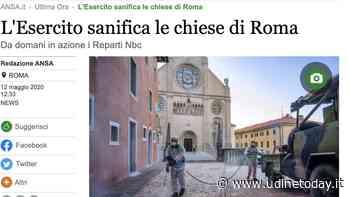 Roma diventa Gemona per l'Ansa - Udine Today