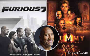 Dwayne Johnson Box Office: From Fast & Furious 7 To The Mummy Returns, Here Are Top 10 Worldwide Gross ... - Ydraft