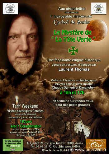 Visite historique contée de la tête verte (1249) Le cachot de Senlis samedi 19 septembre 2020 - Unidivers