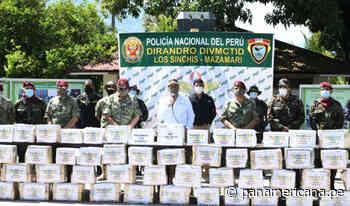 Región Junín: decomisan tonelada y media de droga en Mazamari | Panamericana TV - Panamericana Televisión