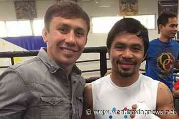 Manny Pacquiao vs Gennadiy Golovkin 'will never happen in this lifetime!' - WBN - World Boxing News