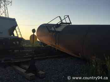 Eight Cars Derail Behind Rothesay Avenue Restaurant - country94.ca