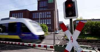 Kontroverse um Bahnübergang am Kraftwerk in Kirchlengern - Neue Westfälische