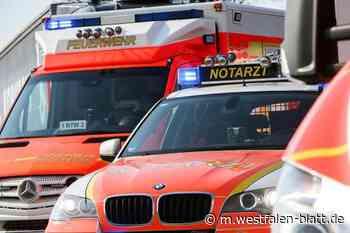 21-Jährige aus Bünde wird in Kirchlengern bei Verkehrsunfall verletzt: Unfall beim Überholen - Westfalen-Blatt