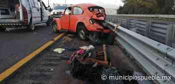 Conductor mata a mujer al embestir auto de reportera en Palmar de Bravo - Municipios Puebla