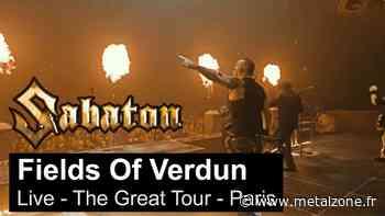 Sabaton publie une vidéo live de Fields Of Verdun à Paris - MetalZone