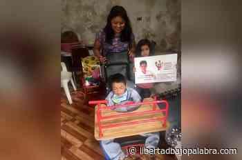 Jericó: niño con parálisis cerebral a quien autoridades municipales le negaron una silla especial - Libertadbajopalabra.com