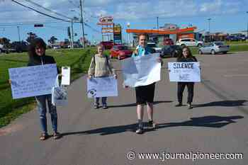 P.E.I. residents take part in anti-racism protest June 9 in Summerside - The Journal Pioneer