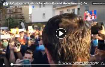 Come l'assembramento di Salvini a Barcellona Pozzo di Gotto è diventato una corsa podistica - next