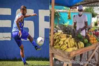 Jogador que virou feirante durante pandemia fecha com clube de Brasília - Metrópoles