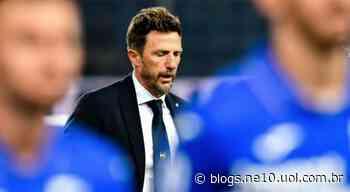 Sampdoria, lanterna da Serie A, demite técnico Eusebio Di Francesco - NE10