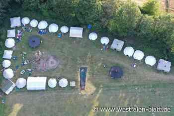 """KJG/CU Brakel will mit """"Homecamping"""" für ausgefallene Veranstaltung entschädigen: Zeltlager-Stimmung im eigenen Garten - Brakel - Westfalen-Blatt"""