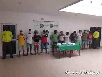Capturan a 11 personas señaladas de traficar droga en Barranquilla y Luruaco - El Heraldo (Colombia)