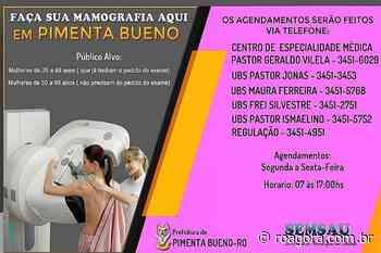Pimenta Bueno lança campanha de prevenção ao Câncer de Mama - Roagora