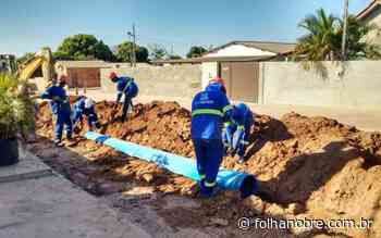 Agência de Regulação - Pimenta Bueno volta a melhorar sua rede de abastecimento d'água neste domingo - Rondônia - Folha Nobre