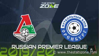 2019-20 Russian Premier League – Lokomotiv Moscow vs Orenburg Preview & Prediction - The Stats Zone