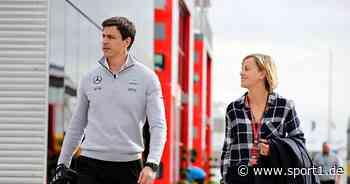 Sebastian Vettel zu Mercedes? Toto Wolff erfragt Rat bei Ehefrau Susie - SPORT1