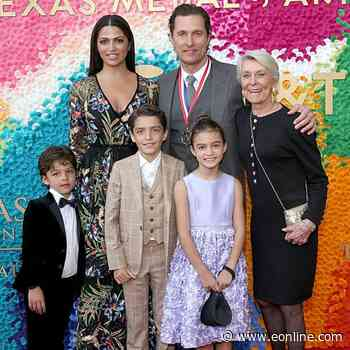 Matthew McConaughey and Camila Alves McConaughey Offer Rare Glimpse Into How They're Raising Their Kids - E! Online