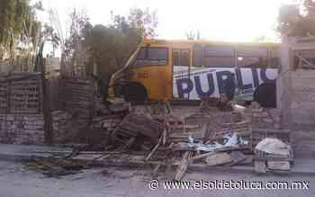 Continúan ataques a unidades de transporte de personal en Zumpango - El Sol de Toluca