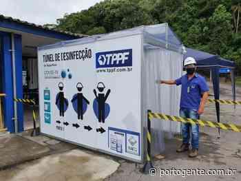 Porto de Antonina tem cabine de desinfecção contra o coronavírus - Portogente