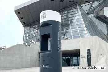 Des bornes de distribution automatique de gel hydroalcoolique produites à Limonest - Tribune de Lyon