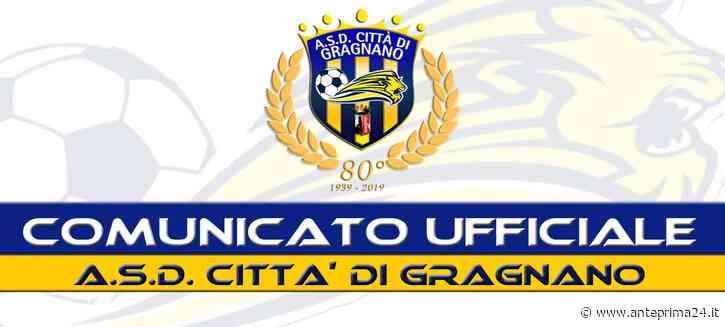 Il Gragnano ha un nuovo direttore generale: nominato Mauro Adiletta - anteprima24.it