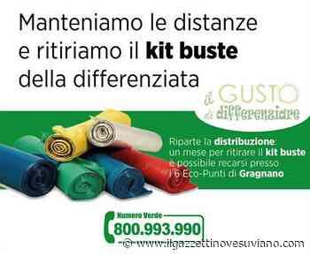 Dopo lo stop per il Covid, a Gragnano riparte la distribuzione dei kit buste - Il Gazzettino Vesuviano