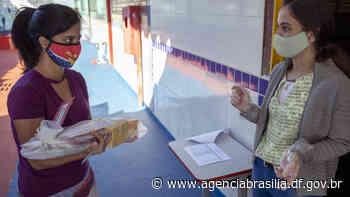 Escola Classe 1 de Sobradinho começa a entrega de Kits de material didático - Agência Brasília