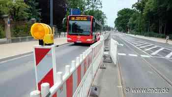 Straßenbahnen fahren ab Montagmorgen wieder durchgängig nach Radebeul und Coswig - MDR
