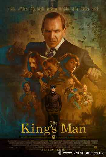 New poster release for The Kings Man starring Ralph Fiennes - 25thframe