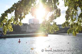 Der Fluss wird zum Schwimmbad-Ersatz – was nicht ungefährlich ist - Waldshut-Tiengen - Badische Zeitung