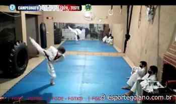 Goiana leva título em 1º Torneio Nacional de Poomsae virtual - Esporte Goiano