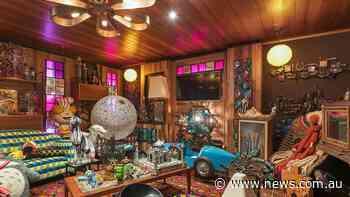 Designer lists Thornbury art gallery house with eccentric decor - NEWS.com.au