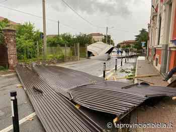 FOTOGALLERY – Maltempo, tromba d'aria a Gaglianico, ingenti danni - La Provincia di Biella