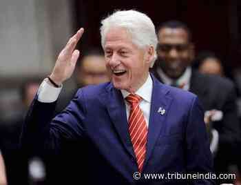 Bill Clinton joins hands with James Patterson for second novel - The Tribune India