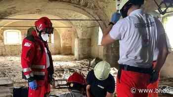 Lost Place bei Volkach: Jugendlicher in Ruine abgestürzt - BR24