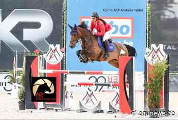Virginie Thonon beste Belgische in finale 7-jarige paarden Bonheiden - equnews.be