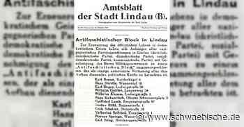 Als die Anti-Faschisten das Leben in Lindau organisierten - Schwäbische
