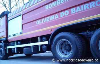 Incêndio destruiu habitação em Oliveira do Bairro - Notícias de Aveiro