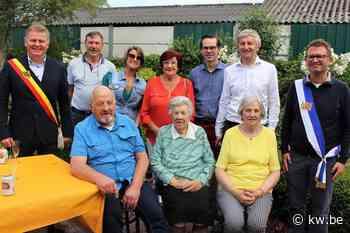 Maria Santy uit Oudenburg viert honderdste verjaardag - Krant van Westvlaanderen