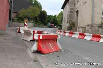 Verkehrsversuch an der Kreisstraße K1 in Borchen: Kreis bekommt viele Anregungen: Gehwege in Dörenhagen werden verbreitert - Westfalen-Blatt