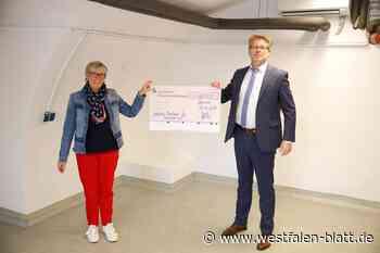 Warengutscheine und Lebensmittelgutscheine für Bedürftige: Spende für Borchener Warenkorb - Westfalen-Blatt