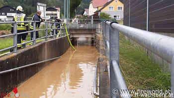 Nö: Überflutungseinsätze nach anhaltendem Regen in Wachtberg - Fireworld.at