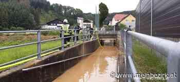 Feuerwehr Wachtberg: Hochwassereinsätze nach starkem Regenfall - Steyr & Steyr Land - meinbezirk.at