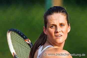 Veronika Zatekova möchte einmal noch Roger Federer in Wimbledon spielen sehen - Tennis - Badische Zeitung