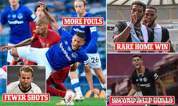 Post-lockdown Premier League stats show the games have changed without any fans