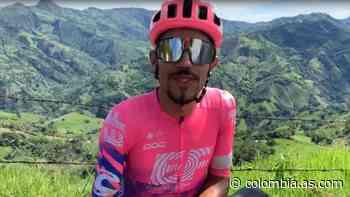 Daniel Martínez pierde su bicicleta de crono en Guaduas - AS Colombia