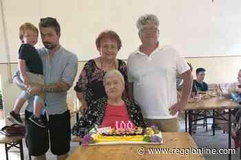 Correggio: Lina Lugli compie 100 anni e fa festa con i parenti - Reggionline